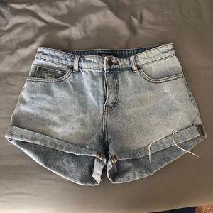 Billabong Highwaisted Denim Shorts